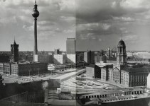The Alexanderplatz around – 1970 photographic panoramas part 2