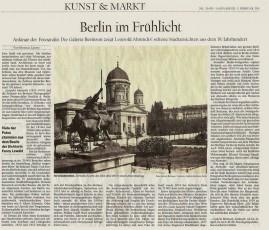 Artikel zur Ausstellung: Leopold Ahrendts (1825-1870) und die Frühzeit der Photographie in Berlin