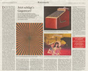 Press Review on Art Cologne 2013